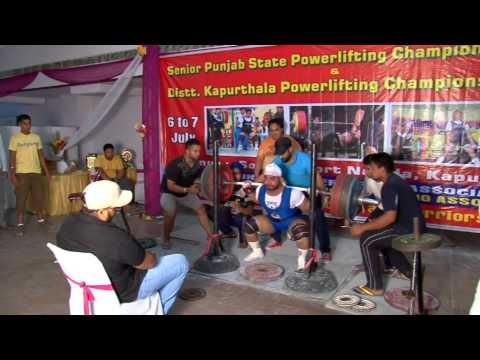 This video upload by satvir dhillon ----- Gurdeep Singh--- SQUAT ---  315KG