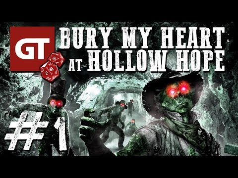 GameTube Pen & Paper: Bury My Heart at Hollow Hope #1 - Horror-Western
