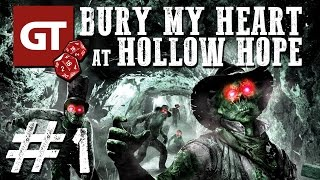 Thumbnail für GameTube Pen & Paper: Bury My Heart at Hollow Hope #1 - Horror-Western