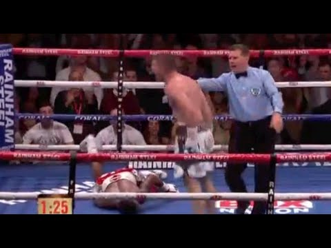 **FIGHT HIGHLIGHTS** - LIAM SMITH BRUTALLY KNOCKS OUT JOHN THOMPSON TO WIN WORLD TITLE / WORLD WAR 3