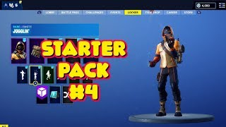 NEW STARTER PACK 4 'SUMMIT STRIKER' SKIN IN-GAME FORTNITE
