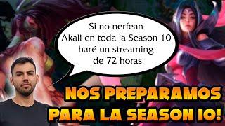 NOS PREPARAMOS PARA LA SEASON 10! - AHORA CON NUEVOS PICKS! - AKALI ARMY EN DIRECTO