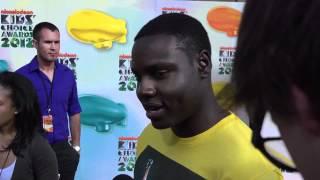 Dayo Okeniyi Interview - 2012 Kids39 Choice Awards
