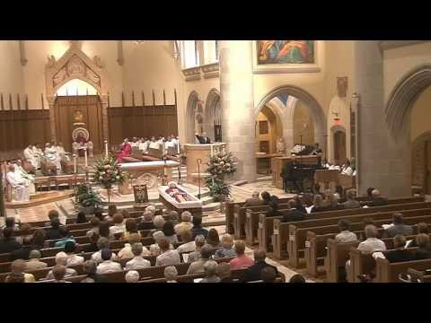 Office for the Dead Evening Prayer for the Most Reverend Anthony G. Bosco