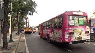 【バンコク散歩 #6】路線バスで旧市街エリアへ Going to Bangkok Old City by Local Bus
