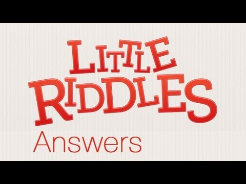 Little Riddles Answers Level 4