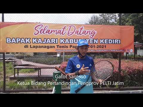 PELTI Jatim Bakal Gulirkan Kembali Kejuaraan Tenis Yunior
