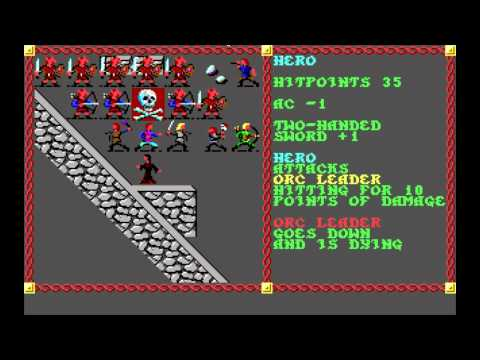 Let's Play Pool of Radiance Part 7 (Monstrous Leadership)