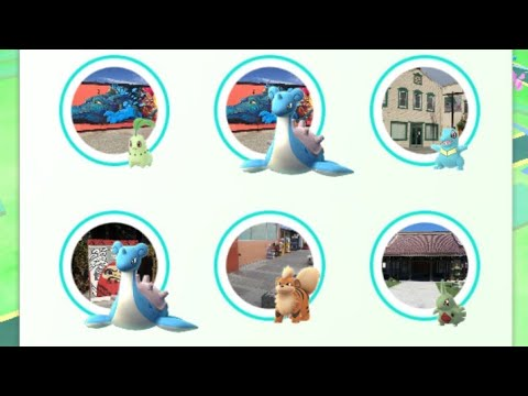 Pokemon GO! San Jose Event! Double Lapras Spawn