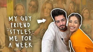 My Guy Friend Styles Me for a Week ft @Sanket Mehta | Aashna Hegde