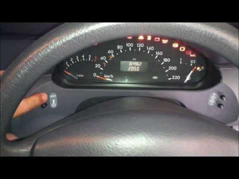 How to reset your Service Indicator on a Mercedes A-Class