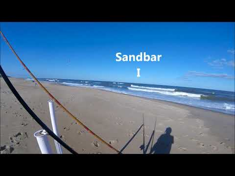"Reading The Beach - Surf Fishing Tips ""Dips & Standing Waves"""