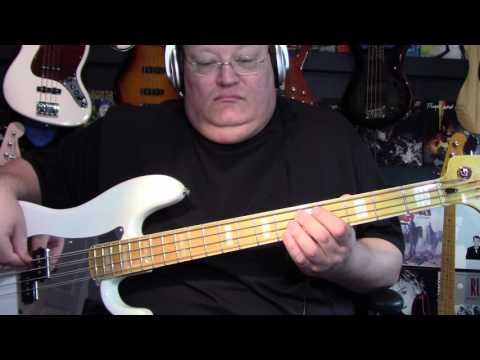 A Flock of Seagulls Space Age Love Song Bass Cover with Notes & Tablature