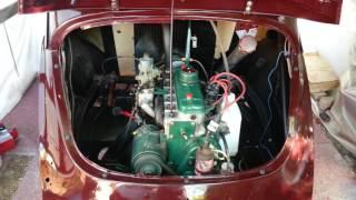 demarage apres restauration moteur 4cv 1952