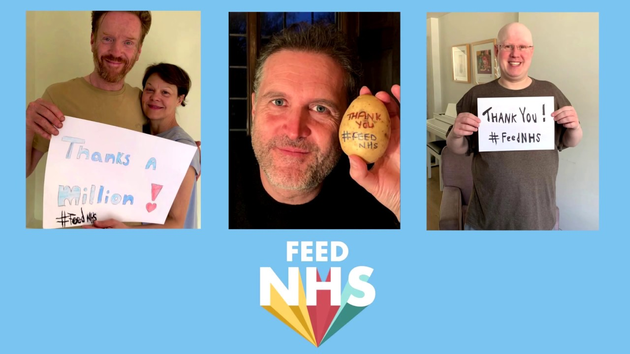 Matt Lucas & Tom Chaplin - Thank You Baked Potato #FeedNHS
