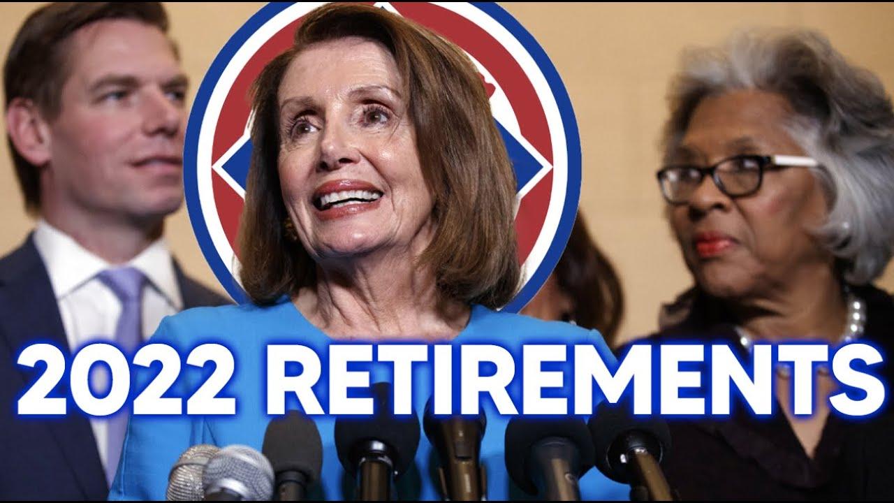 Democratic Retirements Build Up Ahead of 2022 Midterms