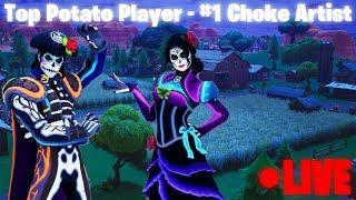 Friday Fortnite Fun - Top Potato Player - #1 Choke Artist Family Friendly (Xbox One)