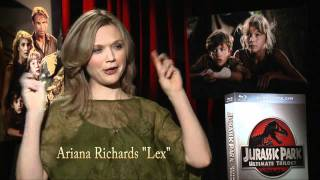 Jurassic Park Interview with Ariana Richards