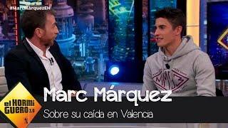 """Marc Márquez, sobre su caída en Valencia: """"No sabía dónde estaba"""" - El Hormiguero 3.0"""