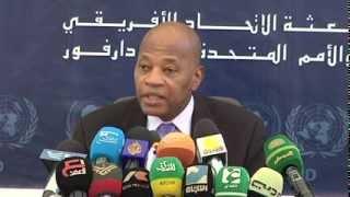 Sudan/ Darfur JSR Presser