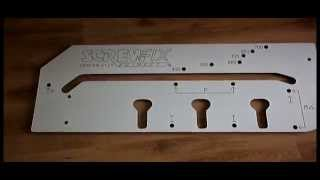 Screwfix Professional 700mm Kitchen Worktop Router Jig With Instructions