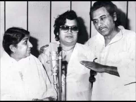 Lata and Kishore_Rahen Na Rahen Chahe Hum Aur Tum (Ek Ladki Badnaam Si)