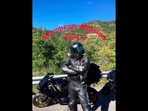 European Motorcycle Tour, Part 3, Spain-Andorra