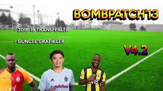 BombPatch13 V4.2 ÇIKTI !! - Kış Transfer Yaması - Pes2013 Transfer Yaması 2019