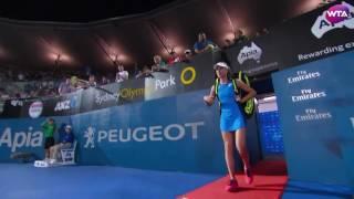2017 Apia International Sydney Semifinals WTA Roundup