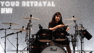 Your Betrayal - Bullet For My Valentine | Drum Cover by Henry Chauhan