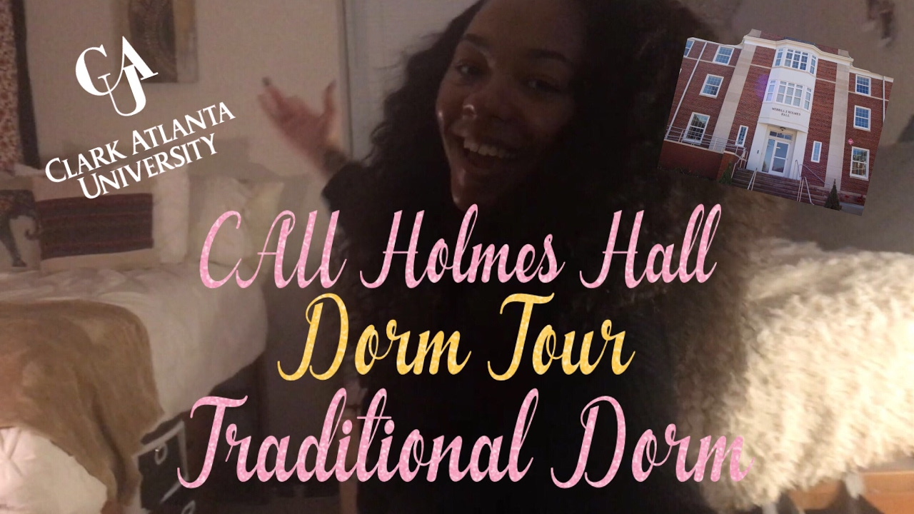 CAU Holmes Hall Dorm Tour | Traditional Dorm | Clark Atlanta University Dorm  Tour Series Part 70