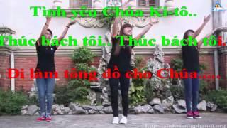 Karaoke Tình Yêu Chúa Ki-tô Thúc  Bách Tôi