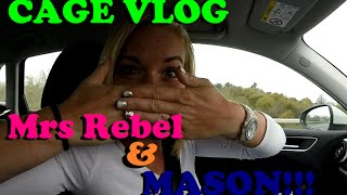 Gatwick to get Mrs Rebel / Faceless Rebel Motovlog / EP 28