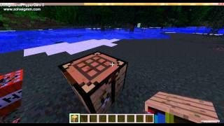 Minecraft 1.6.2 / Как сделать книжную полку и стол зачарований ? / Без звука(, 2013-12-23T22:58:57.000Z)