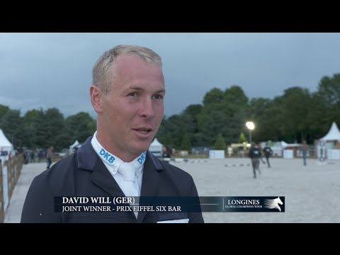 LGCT Paris David Will 1 of 6 Joint winners Prix Eiffel six bar competition Interview