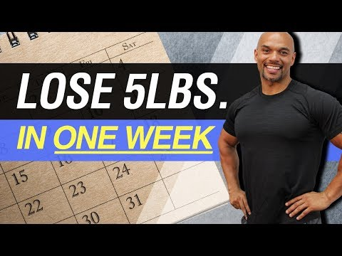 How To Lose 5 Pounds In One Week (The Healthy Way) 5 Tips How To Lose Weight In A Week