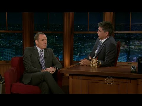Late Late Show with Craig Ferguson 7/21/2011 Bryan Cranston, Amos Lee