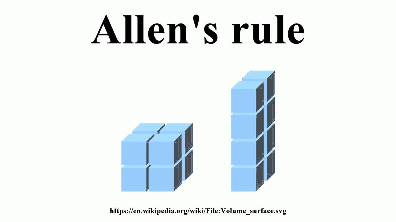 allens rule