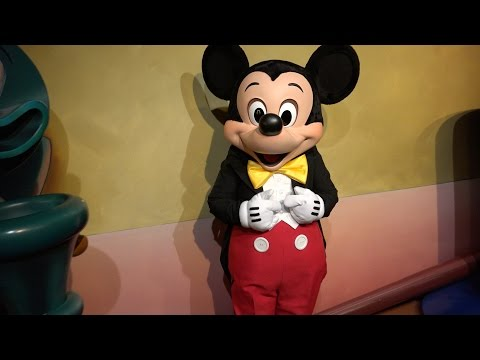 [4K] Mickey's House And Meet Mickey : 2014 POV   Disneyland Resort, California