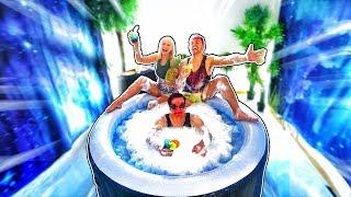 POOL PARADIES im ZIMMER! 🏝🏖 (Roomprank!)