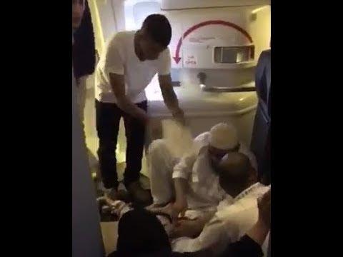 Viral video shows passengers fainting onboard Saudi Arabian flight en route to Pakistan