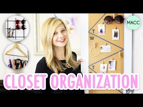 14 Closet Organization Ideas