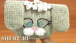 Crochet Bunny Hat for Kids  Урок 1 часть 2 из 3 Детская вязаная шапочка