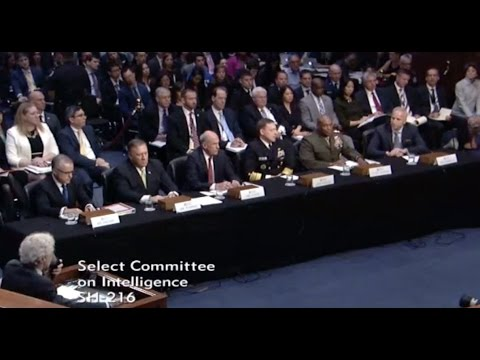 May 11, 2017-Senate Intelligence Committee Hearing - Full Event