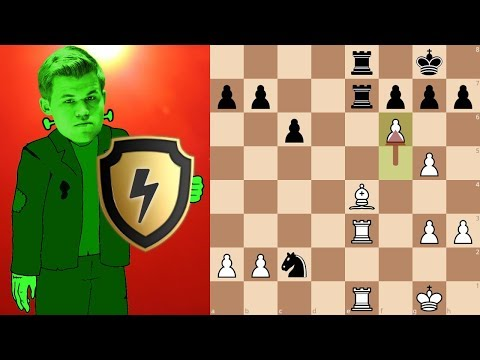 Magnus Carlsen (DrDrunkenstein) goes 100% berserk in a Bullet Shield Arena
