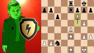 Magnus Carlsen (DrDrunkenstein) goes 100% berserk in a Bullet Shield Arena