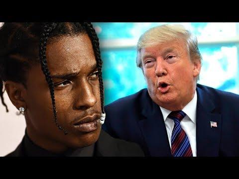 Trump Slams Sweden Again For Not Releasing A$AP Rocky