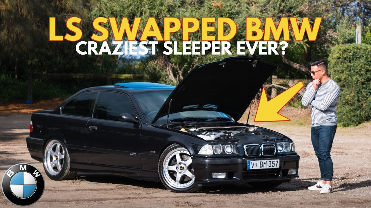 LS SWAPPED BMW E36 is a V8 MONSTER - How it SHOULD HAVE left the factory.. | CAR REVIEW