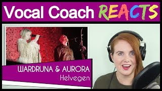 Download lagu Vocal Coach reacts to Wardruna and Aurora - Helvegen (Live)