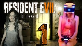 Resident Evil 7 Walkthrough Part 1 ((PS4 VR)) w/ commentary & facecam